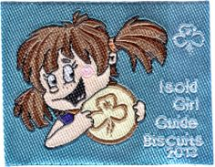 GIRL GUIDES AUSTRALIA 2013 BISCUIT BADGE | eBay