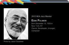 Expresión Latina: Eddie Palmieri recibió el Premio National Endowment for the Arts 2013