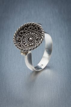 Nordic filigree ring by ElentariHandverk on Etsy https://www.etsy.com/au/listing/507582776/nordic-filigree-ring