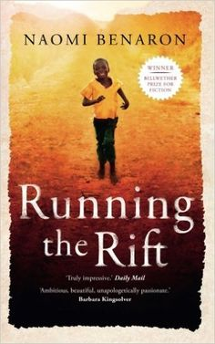 Running the Rift / Naomi Benaron. Jean Patrick dreams of running in the Olympics, and with gruelling training he soon beats a world qualifying time. But his chances of success are threatened by the ethnic tensions erupting all around him. When Hutu violence against Tutsis finally crescendos and his homeland Rwanda is wracked by unforgivable atrocities, Jean Patrick, a Tutsi, has no choice but to run for his life abandoning fatherland, family, and the woman he loves.