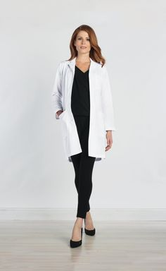 15 more female doctor work outfits & Doctor Work Outfit, Boho Work Outfit, Winter Outfits For Work, Casual Winter Outfits, Spring Outfits, Professional Outfits, Lab Coats, Clothes For Women, Red Panda