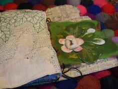 page nénuphar - Journal Textile - Nadine Levé