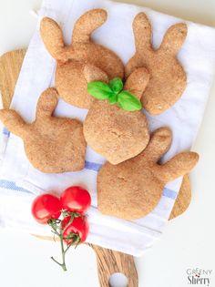Herzhafte vegane Osterhasen aus Vollkorn-Hefeteig - Greeny Sherry - Vegane Rezepte & grün(er)leben   vegan food & lifestyle
