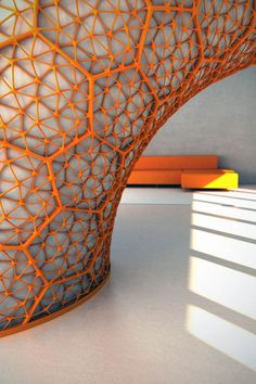 Freedom Of Creation has just added the Macedonia Space Divider to its design… Impression 3d, Gothic Architecture, Architecture Design, Building Architecture, Space Dividers, Digital Fabrication, Parametric Design, 3d Laser, 3d Prints