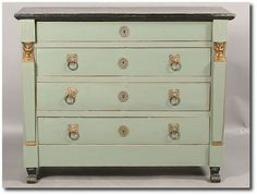 How Decorate With French Empire Antiques
