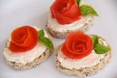 Catholic Cuisine: Heavenly Rose Garden Tea Sandwiches