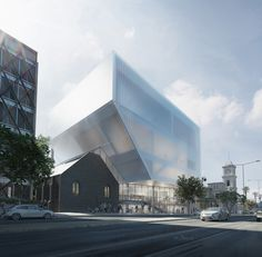 Hassell Unveil Design for Geelong Performing Arts Center