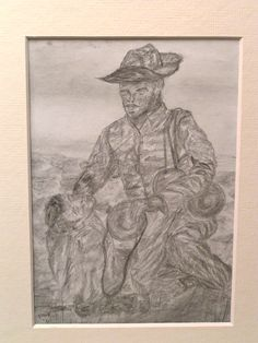 1962.Wounded, apr 24, 1962, pencil, 4.5x6.5