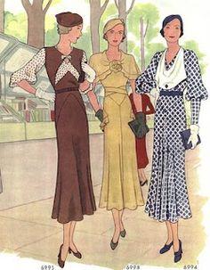 Fashions of summer 1932