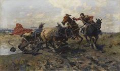 Józef Brandt, Durchgegangen, 1908.