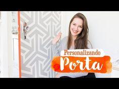 DIY - Personalizando Porta com Fita :: Mundo de Idéias HP - YouTube