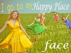 May your Happy Place, become your Permanent Residence ♥