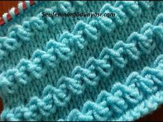 With the beginning of the knitting season in recent days, we can . Knitting Videos, Knitting Charts, Lace Knitting, Knitting Stitches, Knitting Needles, Crochet Stitches Patterns, Baby Knitting Patterns, Knitting Designs, Stitch Patterns