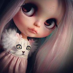 "OOAK art doll takara blythe custom RBL "" Etoile "" by  Kdolls heaven #58"
