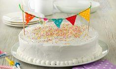 Tarta de nata fiesta