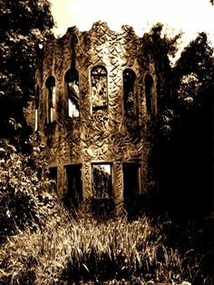 Ruins of Hillcrest, KwaZulu Natal, South Africa. Kwazulu Natal, Haunted Places, Rest Of The World, Beautiful Space, Paranormal, Mansion, Adventure Travel, Castles, Monument Valley