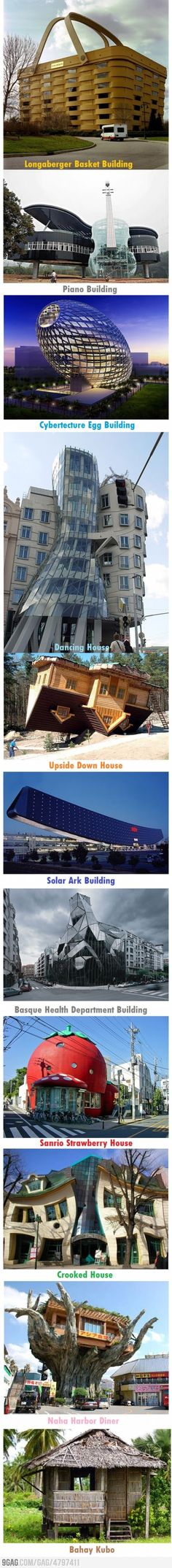 Funny pictures about Unique buildings of the world. Oh, and cool pics about Unique buildings of the world. Also, Unique buildings of the world. Unusual Buildings, Interesting Buildings, Amazing Buildings, Beautiful Architecture, Art And Architecture, The Places Youll Go, Places To Go, Unusual Homes, Destination Voyage
