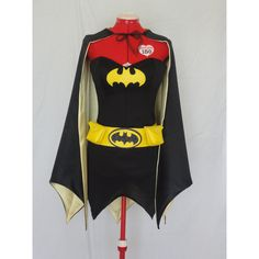 SEXY BATGIRL Super Hero Costume Ladies Custom Made Sizes XS-M (380 AUD) ❤ liked on Polyvore featuring costumes, superhero halloween costumes, sexy women halloween costumes, sexy batgirl costume, ladies halloween costumes and batgirl costume