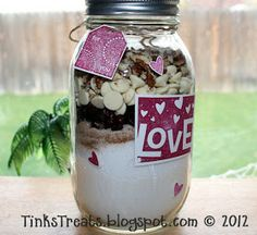 Tink's Treats: Cranberry White Chocolate Quick Bread Mix in a Jar