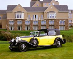 AUT 19 RK0574 05 - 1931 Rolls Royce Phantom II Black And Yellow 3 ...