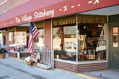 Continuously evolvingto meet customers'needs, a rural quilt shopis a  small-town staple.
