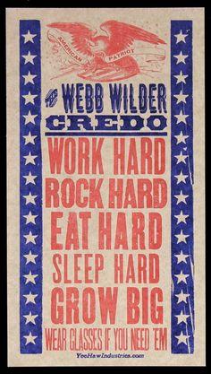 Webb Wilder.....credo!