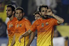 Levante - Barça (0-4) - 25/11/2012 #cesc #fabregas #barcelona