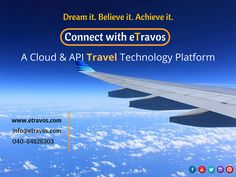 eTravos Technology Platform is A travel technology solution provider to travel agencies, Travel portal software, Travel portal development, White Label solutions all over the globe. Travel And Tourism, Travel Agency, Travel Packing, Travel Destinations, Airline Reservations, App Development, Airplane View, Traveling By Yourself, Software