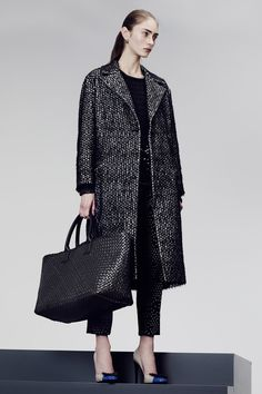 Bottega Veneta • PF 2014 • // #Outerwear #Tweed