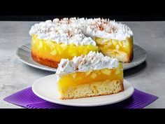 O explozie de gust si arome! Desert racoritor cu jeleu de mere, ce te va da pe spate! | SavurosTV - YouTube Cheesecake, No Cook Desserts, Bread Rolls, Saveur, Flan, Vanilla Cake, Deserts, Gluten, Pudding
