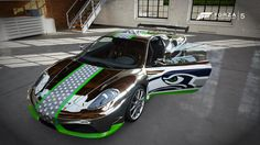 Seahawks Car Designs [Fireproofgfx] - Fantasy Paint Booth - Forza ...