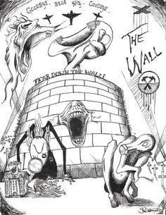 Pink Floyd The Wall Art | Pink Floyd- The Wall by ~electricsorbet on deviantART