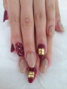 134122895125479980 Nail Art Nail Salon blog ~ AmebaGG daily es nail ...   images of tie dyed stripe nail