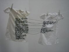 Aya Haidar, The Stitch is Lost Unless the Thread is Knotted