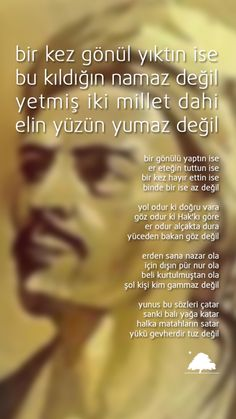 Yunus Emre : Bir Kez Gönül Yıktın İse - Anadolu Çınarları poster