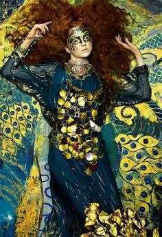 Un petit air des peintures de Klimt ?