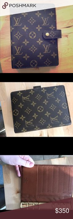 Louis Vuitton Monogram MM Agenda Great used condition Louis Vuitton Monogram MM Agenda. Some peeling inside the back pocket but smooth to the touch. Date Code SP 1928 Louis Vuitton Other Louis Vuitton Planner, Louis Vuitton Monogram, Smooth, Coding, Touch, Pocket, Wallet, Fashion Design, Things To Sell