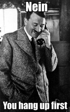 Hitler in love. HAHA