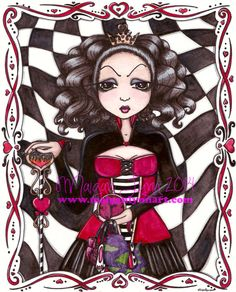 The Mad Queen and her Collection of Things by MaiganLynnFantasyArt