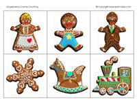 Gingerbread books, songs, activities, printables