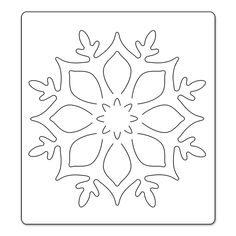 PRE-ORDER : Sizzix : Bigz Die - Snowflake Ornament by Brenda Walton (Ships in October '13)