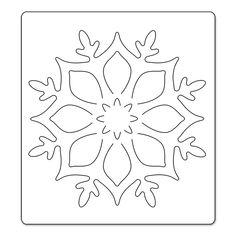 PRE-ORDER : Sizzix : Bigz Die - Snowflake Ornament by Brenda Walton (Ships in October '13)