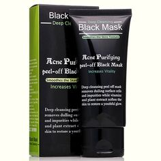 Purifying peel-off Mask Blackhead Remover Black Head Acne Treatments Face Care Sunction Deep Cleansing Black Mask