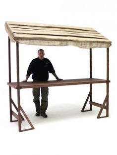 Large Rustic Market Stall