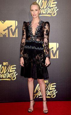 Charlize Theron at the 2016 MTV Movie Awards