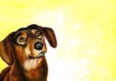 Pretty Please! - Original Fine Art for Sale - © by Karen Robinson