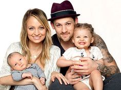 Madden family; Nicole and Joel with their kids