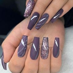 18 Trending Nail Designs That You Will Love - Best Nail Art - #accentnails #accent #nails