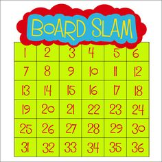 """""""Board Slam"""" is another name for the math game that is at the heart of the National Number Knockout."""
