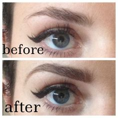 Eyebrow how-to: fill it in the right way. #beauty